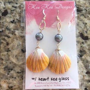 Kea kea Designs earings and bracelet